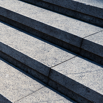 Detail Shot Of stone stairs