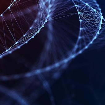 Digital Formation Futuristic Background