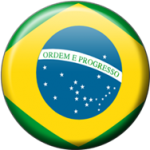 Brazil Button Flag
