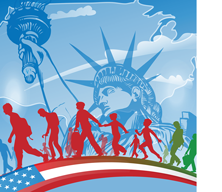 Illustration on Immigration