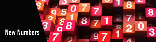 Analytics New Numbers Banner