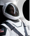 SpaceX's IVA spacesuit, image courtesy of Space X