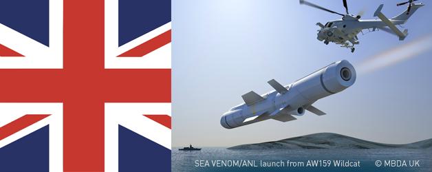 SEA VENOM/ANL launch, © MBDA UK