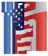 Caduceus in US flag
